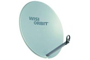 Antenne Wisi 85 cm 37 db parabolique gris clair